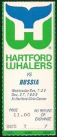 1989 NHL Russia at Whalers