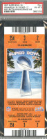 2007 Super Bowl Colts vs Bears ticket stub