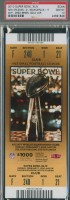 2010 Super Bowl Saints vs Colts ticket stub