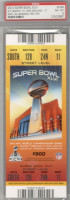 2012 Super Bowl Giants vs Patriots ticket stub