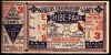 1931 World Series Game 3 Ticket Stub Cardinals at Athletics