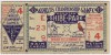 1931 World Series Game 4 Ticket Stub Cardinals vs Athletics