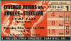 1943 NFL Bears at Steagles ticket stub
