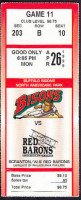 1999 MiLB International League SWB Red Barons at Buffalo Bisons ticket stub