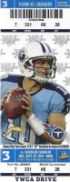 2013 NFL Chargers at Titans ticket stub