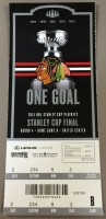 2015 Stanley Cup Final Gm 4 Lightning at Blackhawks ticket stub