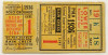 1936 World Series Game 1 Ticket Stub Yankees vs Giants