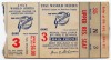 1951 World Series Game 3 Ticket Stub Yankees at Giants