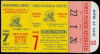 1960 World Series Game 7 Yankees at Pirates ticket stub