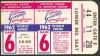 1962 World Series Game 6 ticket stub Yankees vs Giants