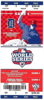 2012 World Series Game 4 Giants at Tigers Ticket Stub