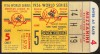 1956 World Series Game 5 Dodgers at Yankees ticket stub Larsen