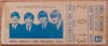 1965 Beatles Shea Stadium ticket stub