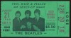 1966 Beatles St. Louis ticket stub