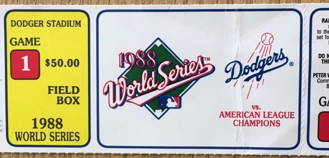Top 12 Historic World Series Game Ticket Stubs