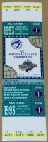 1993 World Series Game 1 Phillies at Blue Jays ticket stub