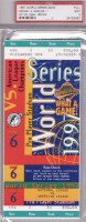 1997 World Series Game 6 ticket Indians at Marlins