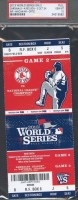 2013 World Series Game 2 Cardinals at Red Sox Ticket Stub