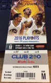 2016 NBA Finals Game 1 Cavaliers at Warriors ticket stub