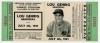 1941 Lou Gehrig Memorial ticket stub