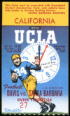 1951 NCAAF California at UCLA ticket stub