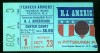 1967 ABA New York Nets at New Jersey Americans first game ever ticket stub