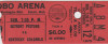 1975 ABA Kentucky Colonels at NBA Detroit Pistons Ticket Stub Cobo Arena