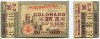 1951 NCAAF Colorado at Northwestern ticket stub