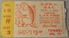 1951 NCAAF Oregon State at Washington ticket stub