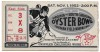 1952 Oyster Bowl Virginia vs South Carolina ticket stub