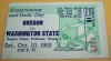 1953 NCAAF Oregon at Washington State ticket stub
