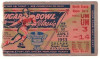 1953 Sugar Bowl Georgia Tech vs Mississippi ticket stub