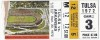 1972 NCAAF Tulsa at Arkansas ticket stub