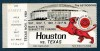 1981 NCAAF Texas at Houston Ticket Stub