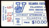 1986 NCAAF Central Connecticut State at Villanova ticket stub