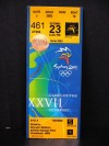 2000 Olympics Track and Field Sydney ticket stub