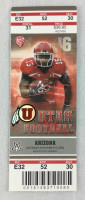 2012 NCAAF Arizona at Utah ticket stub