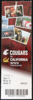 2012 NCAAF California at Washington State ticket stub