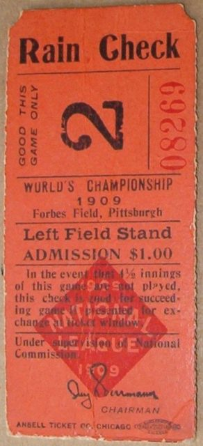 1909-world-series-game-2-tigers-at-pirates-ticket-stub-3181