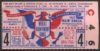 1943 World Series Game 4 Yankees at Cardinals Ticket Stub