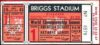 1945 World Series Game 1 Cubs at Tigers ticket stub