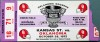 1972 NCAAF Kansas State at Oklahoma ticket stub