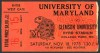 1978 NCAAF Clemson at Maryland ticket stub