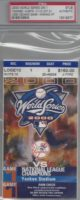 2000 World Series Game 1 Mets at Yankees Ticket Stub
