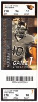 2013 NCAAF Eastern Washington at Oregon State ticket stub