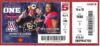 2014 NCAAF Colorado at Arizona ticket stub