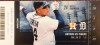 2016 MLB Astros at Tigers ticket stub