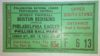 1934 PNFL Boston Redskins at Philadelphia Eagles ticket stub