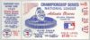 1969 MLB NLCS Game 1 Mets at Braves ticket stub Hank Aaron HR