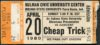 1980 Cheap Trick Indiana State University ticket stub